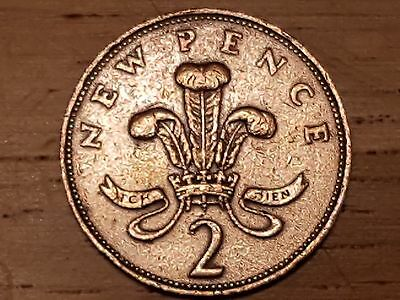 RARE 2p COIN 1971 TWO 'NEW PENCE' COIN x 4