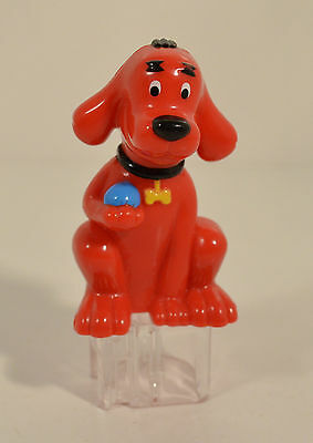 """Clifford 4"""" Birthday Cake Topper Action Figure Clifford the Big Red Dog"""