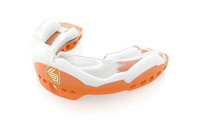 Shock Doctor Ultra STC 2 Mouthguard Low-Profile Convertible Piece Orange - Youth