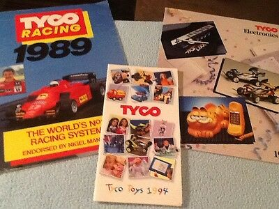 Lot of Tyco Toy Fair Toy Catalogs