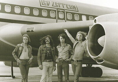 """Led Zeppelin Flagge / Fahne """"airplane"""" Poster Flag Posterflagge"""