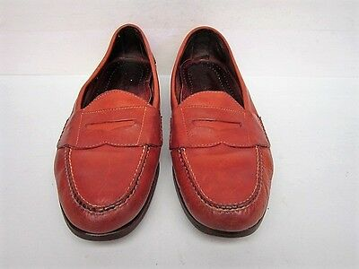 men's chestnut brown Cole Haan Country Penny loafers size 10 D
