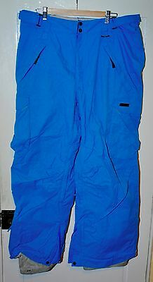Bright Blue Westbeach Men's Snowboard Ski Pants XL