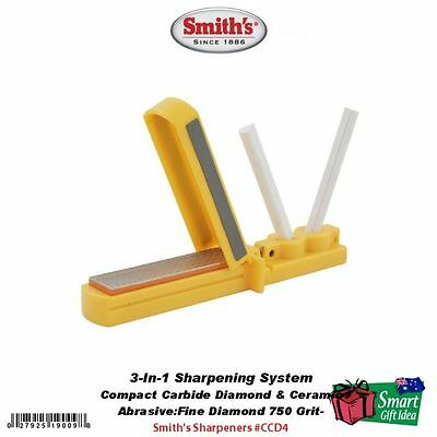 Smith's Abrasives 3-In-1 Sharpening System  #CCD4