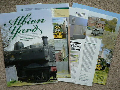 Albion Yard 1950s/60s BR Western Region in OO  - Hornby magazine article