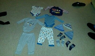 bundle of baby boys clothes 9-12 months