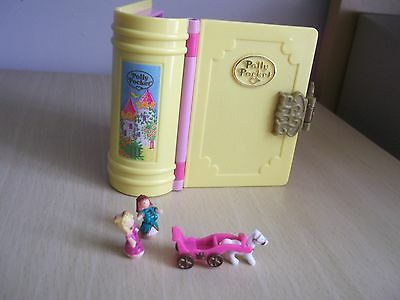 vintage Polly Pocket Princess Palace 1995 compact storybook - complete