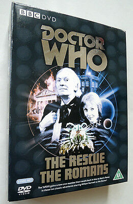 Doctor Who The Rescue / The Romans Dvd Outer Card Box Only . William Hartnell