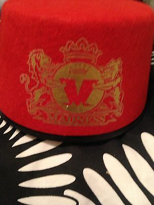 Madness hat - official from 2015 concert