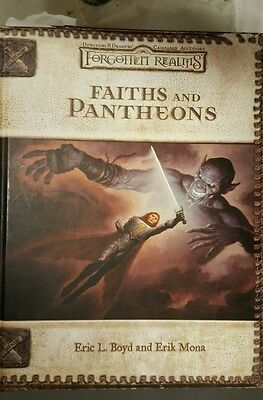 Forgotten Realms Faiths And Pantheons Hardcover