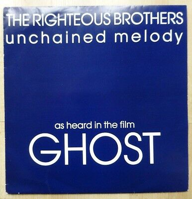 """THE RIGHTEOUS BROTHERS - Unchained Melody 1990 12"""" Vinyl. PZ101"""