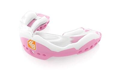 Shock Doctor Ultra STC 2 Mouthguard Low-Profile Convertible Piece Pink - Youth