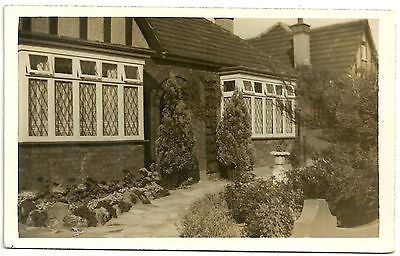 Middlesex postcard Enfield bungalow 20 manorway Bush Hill Park