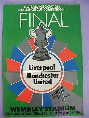 1977 FA Cup Final Liverpool V Manchester United
