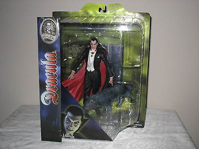 2012 Diamond Select Universal Monsters Studios DRACULA with WOLF-New RARE