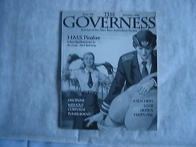 The Governess Magazine, Summer 1996, Issue XII, Fetish, Corporal punishment,RARE
