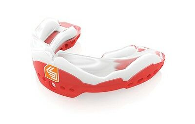 Shock Doctor Ultra STC 2 Mouthguard Low-Profile Convertible Piece Red Youth