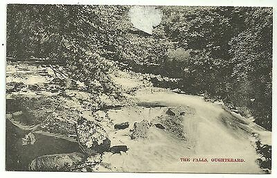 Ireland Co Galway postcard Oughterard the Falls