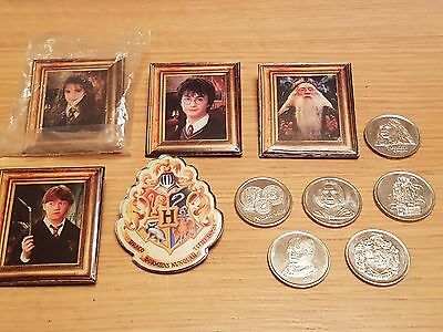 HARRY POTTER enamel badges and coins