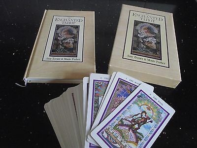 Rare Unusedthe Enchanted Tarot Cards Deck, Large Book.boxed Set.zerner & Farber