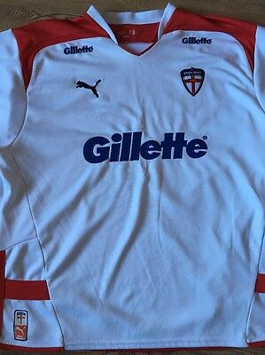 England Rugby League Shirt, Size XXL, Good Used Condition.