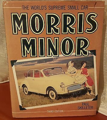 Morris Minor book -The Supreme small car - Third Edition - Hardback
