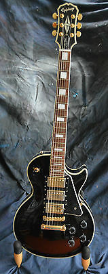 "Epiphone Les Paul ""black Beauty"" Guitar Korean 2005"