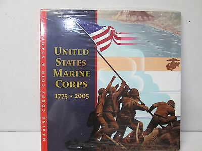 2005 United States Marine Corps Coin & Stamp Collection Set - Unopened