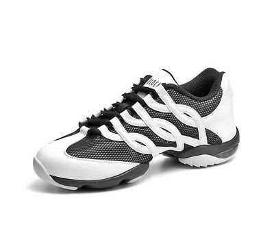 Bloch Twist Black & White Dance Sneaker Ladies Size 8