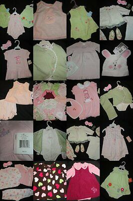 Baby Girl Clothing LOT 6/9 months Dress OUTFIT Sets NWTS EUC Valentines EASTER