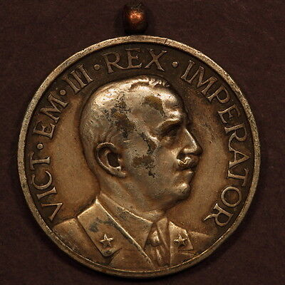 Italy Medal ND(Early 1900's) Vittorio Emanuele III Silver Plated EF