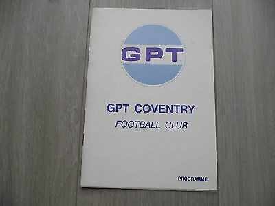 1996-94 GBT Coventry v Sutton Town - Midland Combination