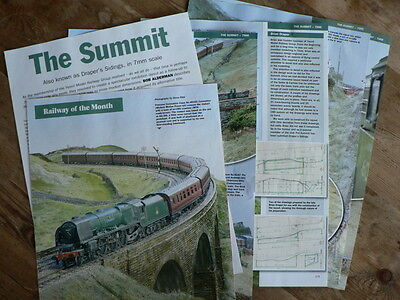 The Summit - Settle & Carlisle inspired in 7mm scale  - Railway Modeller article