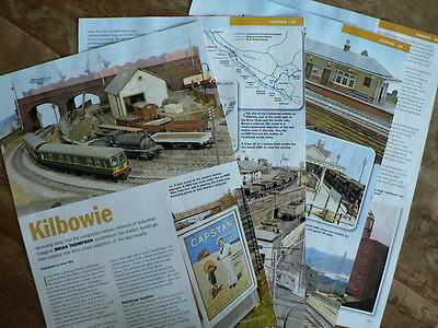 Kilbowie - Glasgow suburban layout in 4mm scale  - Railway Modeller article