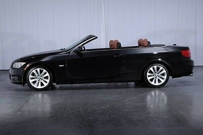 2012 BMW 3-Series Base Convertible 2-Door Premium Pkg Cold Weather Pkg NAVI Harman/Kardon APPS Bluetooth Warranty