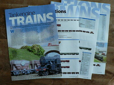 Tank engine train formations and modelling them  - Hornby magazine article