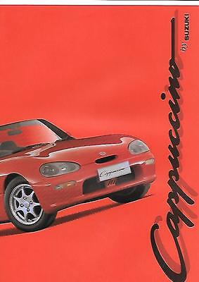 Suzuki Cappuccino Car Sales Brochure October 1993 For 1994