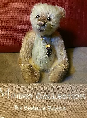 Charlie Bears Trouble mohair bear limited edition from Minimo Collection