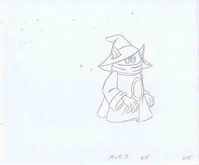 HE-MAN Masters of the Universe Original Animation Pencil Drawing #A15420