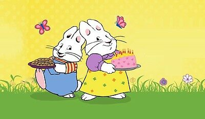 Max and Ruby fridge magnet