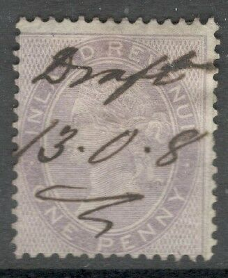 Queen Victoria - F18 - 1d Lilac - Small Anchor - Used