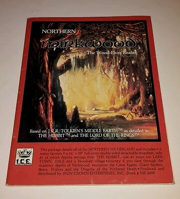 ICE: MERP: Northern Mirkwood, The Wood-Elves Realm Source Book