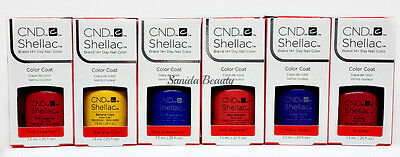 CND Gel Polish .25oz- Pick any Color From NEW WAVE Collection- Shellac