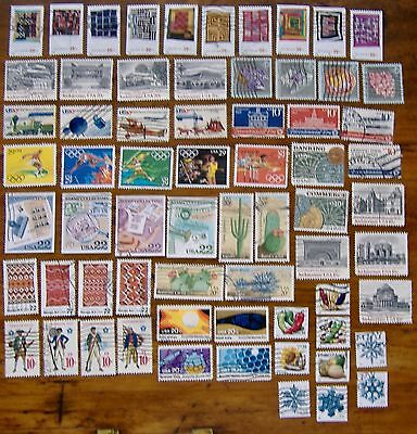15 used setenant sets 10-39 cent US postage stamps