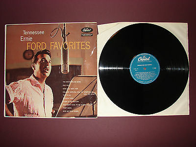 Tennessee Ernie Ford Favourites LP Vinyl Record T841