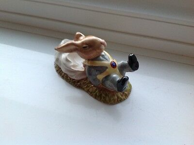 Rare Royal Doulton  Freefall Bunnykins Db 41 - In Perfect Condition.