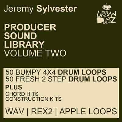 Jeremy Sylvester Producer Sound Library Vol. 2 -Deep House loops WAV, Rex2, Aiff