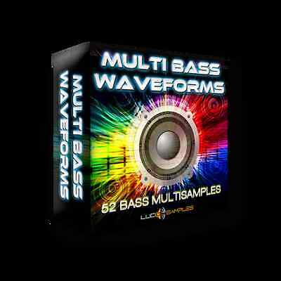 Multi Bass Waveforms SF2 Samples -professional-sounding bass lines in club music