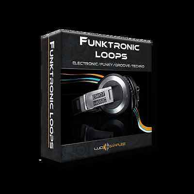 Funktronic Loops - electronic, groove, funky and techno drum - Download or CD