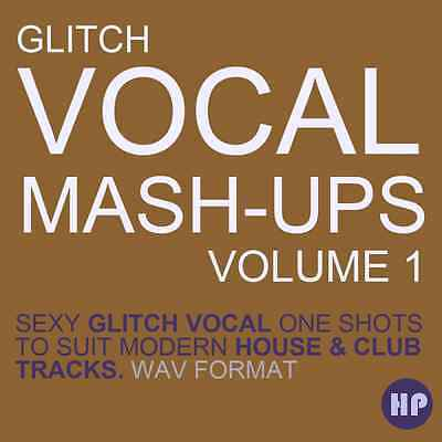 Glitch Vocal Mash Up - vocal snippets chopped, ready to load into your DAW